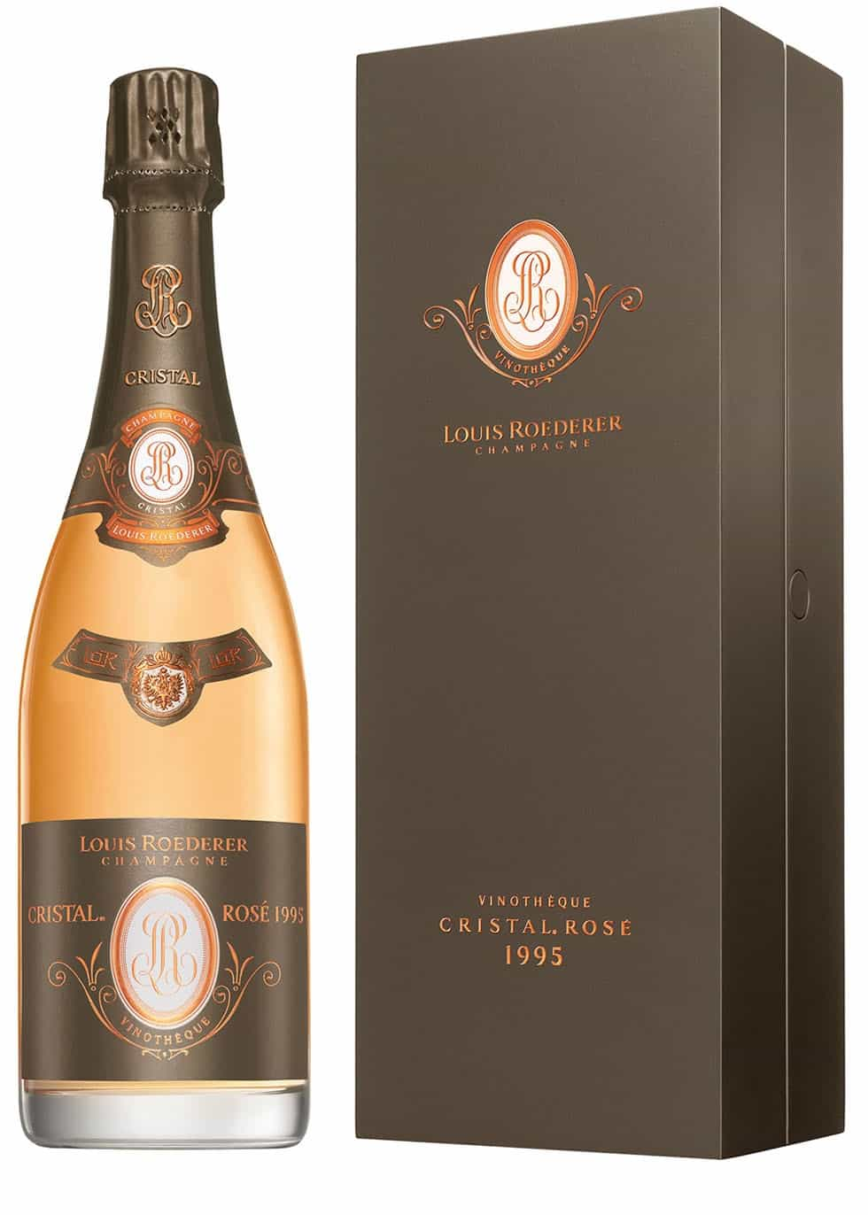 Super rare wine Cristal Vinothèque 1995 is just a click away
