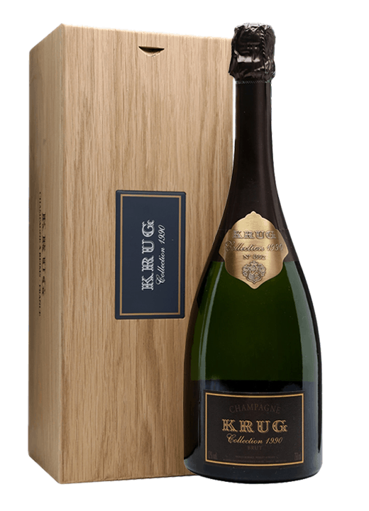 Why settle for a bottle of Krug Collection 1990 when you can have a magnum?